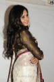 Actress Aarushi Cute Beautiful Photos in White Saree