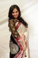 Actress Aarushi in White Saree @ Premantene Chitram Audio Release