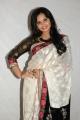 Actress Aarushi in White Saree @ Premantene Chitram Audio Launch