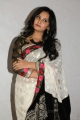 Actress Aarushi Cute Photos in White Saree