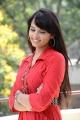 Telugu Actress Aarushi Photos @ Prabhanjanam Movie Press Meet