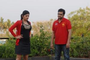 Shivaji, Sona Chopra in Aasa Dosa Appadam Movie Photos