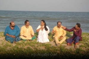 Santhana Bharathi, Paandu, Shakeela, Nellai Siva, Anu Mohan in Aasami Tamil Movie Gallery