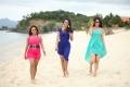 Gayathri Iyer, Madhuri Itagi & Kadambari Jethwani in Aata Telugu Movie Stills