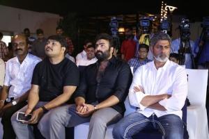 Sai Karthik, Nara Rohith, Jagapathi Babu @ Aatagallu Movie First Look Launch Stills