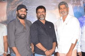 Nara Rohit, Paruchuri Murali, Jagapathi Babu @ Aatagallu Movie Press Meet Stills