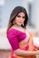 Actress Aathmika Latest Saree Photoshoot Pics