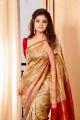 Actress Aathmika in Saree Photoshoot Images