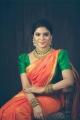 Actress Aathmika Saree Photoshoot Images