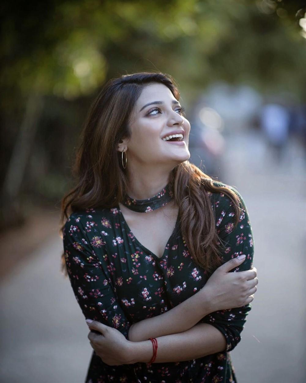 Actress Aathmika Recent Photoshoot Stills