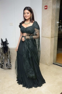 Vijaya Raghavan Actress Aathmika Green Dress Pictures
