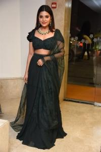 Vijaya Raghavan Heroine Aathmika Green Dress Pictures