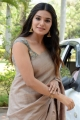 Actress Aathmika Saree Pics @ Vijaya Raghavan Movie Press Meet