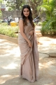 Actress Aathmika Saree Pics @ Vijaya Raghavan Press Meet