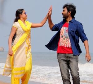 Aavu Puli Madhyalo Prabhas Pelli Movie Heroine & Hero Stills