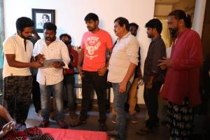 GV Prakash, Sathish, Ezhil @ Aayiram Jenmangal Movie Working Stills