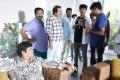 Anandaraj, Ezhil, Chaams, Sathish @ Aayiram Jenmangal Movie Working Stills