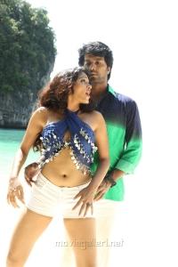 Kesha Khambhati, Vinay in Aayirathil Iruvar Movie New Photos