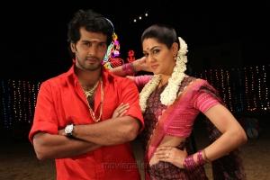 Vinay Rai, Samuthrika in Aayirathil Iruvar Movie New Photos