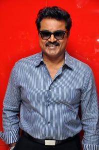 Sarath Kumar @ Aayirathil Oruvan Movie Trailer Launch Stills