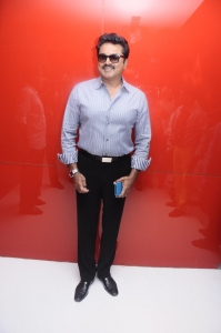 Sarathkumar @ Aayirathil Oruvan Movie Trailer Launch Stills