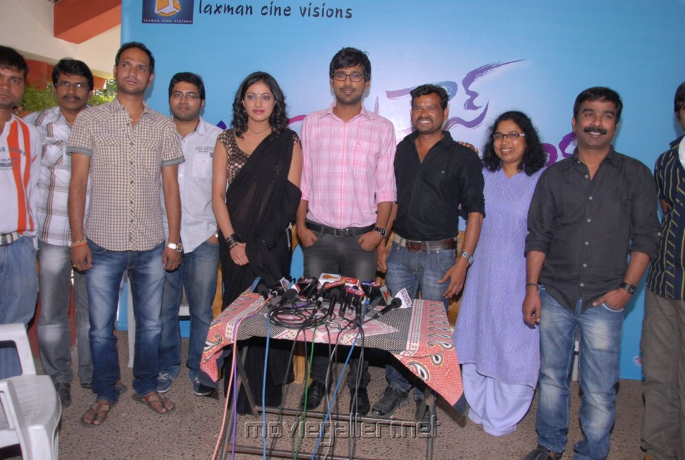 Abbayi Class Ammayi Mass Press Meet Stills