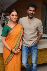 Tamannaah, Prabhu Deva @ Abhinetri First Look Launch Photos
