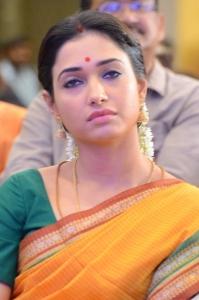 Actress Tamanna @ Abhinetri First Look Launch Photos