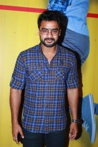 Actor Tovino Thomas @ Abhiyum Anuvum Movie Press Meet Stills