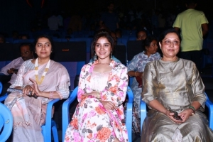 Suhasini, Piaa Bajpai, BR Vijayalakshmi @ Abhiyum Anuvum Movie Press Meet Stills