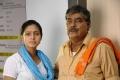 Abhinaya, Kota Srinivasa Rao in Acham Thavir Movie Stills