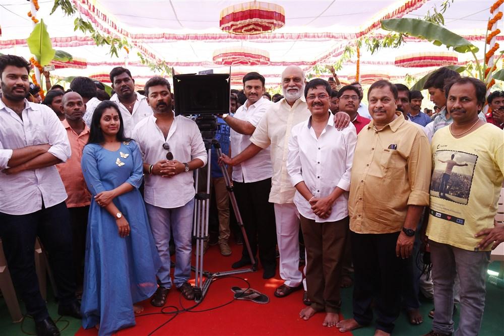 Achari America Yatra Movie Opening Stills