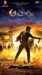 Chiranjeevi Acharya First Look Poster HD