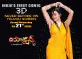 Actress Neelam Upadhyaya in Action 3D Movie Release Wallpapers