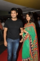 Uday Kiran with wife Vishitha at Action 3D Premiere Show at Prasads Multiplex