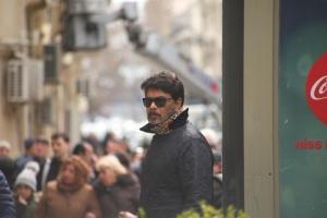 Director Sunder C @ Action Movie Working Stills HD