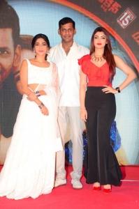 Aishwarya Lekshmi, Vishal, Akanksha Puri @ Action Movie Pre-Release Event Stills