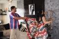 Raju Sundaram, Kamna Jethmalani at Action with Entertainment Movie Working Stills