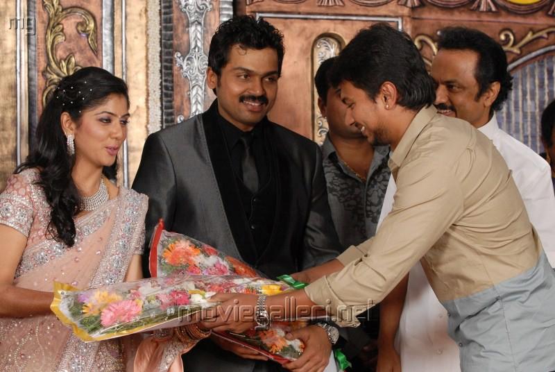 Udhayanidhi Stalin @ Actor Karthi Reception Photos
