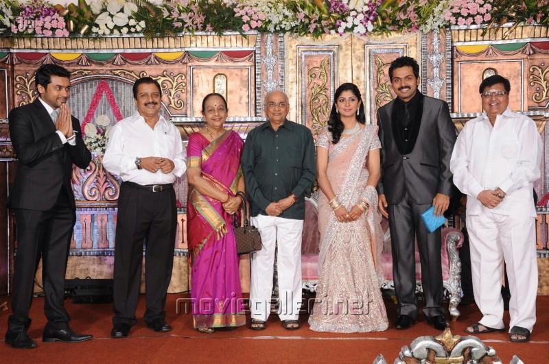 Actor Karthi Reception Photos