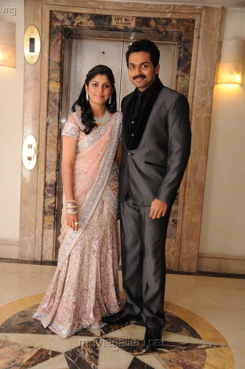 Karthik Sivakumar Ranjani Wedding Marriage Reception Photos Stills