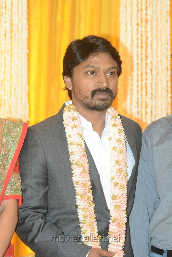Actor Krishna Kulasekaran Wedding Reception Stills
