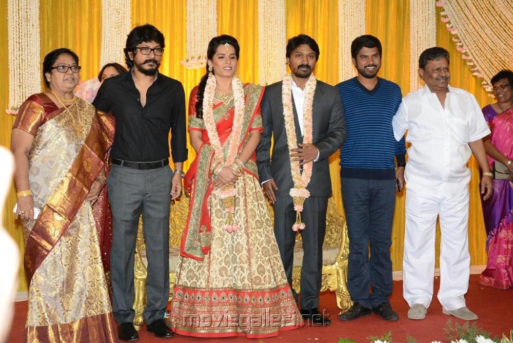 Actor Krishna Kulasekaran Wedding Reception Stills