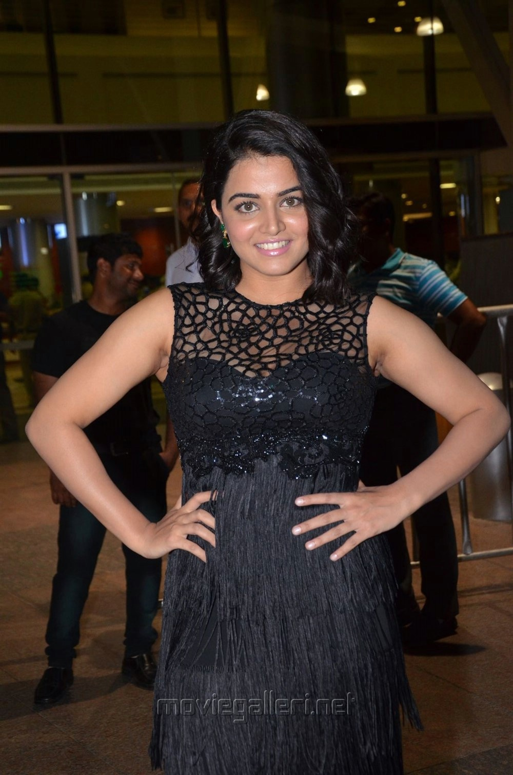 Actress Wamiqa Gabbi @ 64th Filmfare Awards 2017 South Red Carpet Stills