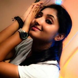 Tamil Actress Adhiti Stills