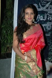 Actress Ammu In Saree Stills