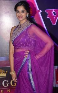 Actress Nanditha Raj @ Apsara Awards 2016 Red Carpet Stills