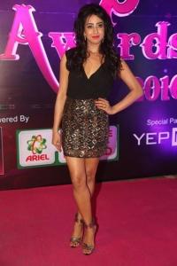 Actress Sanjjanaa Galrani @ Apsara Awards 2016 Red Carpet Stills