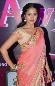 Actress Ulka Gupta @ Apsara Awards 2016 Red Carpet Stills