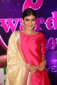 Actress Hebah Patel @ Apsara Awards 2016 Red Carpet Stills